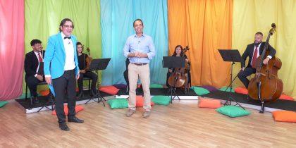 Quinteto Cordas da Orquestra Didática da Foco Musical