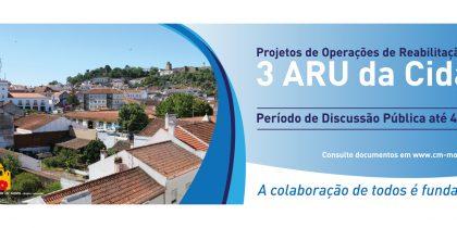 Discussão Pública das ARU´s de Cabrela, Santiago do Escoural e Cabrela