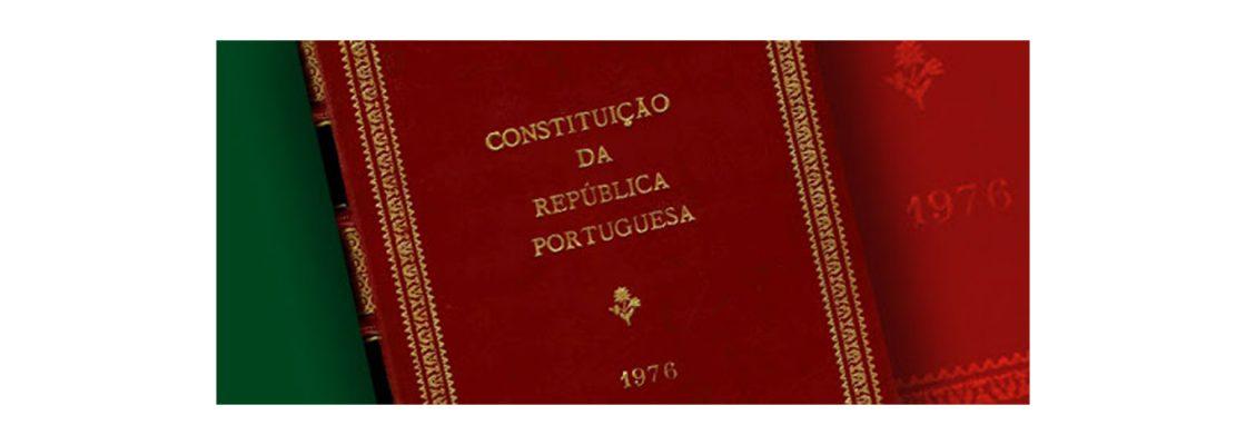 Saudação da Câmara Municipal aos 45 anos da Constituição da República Portuguesa. Constitui...