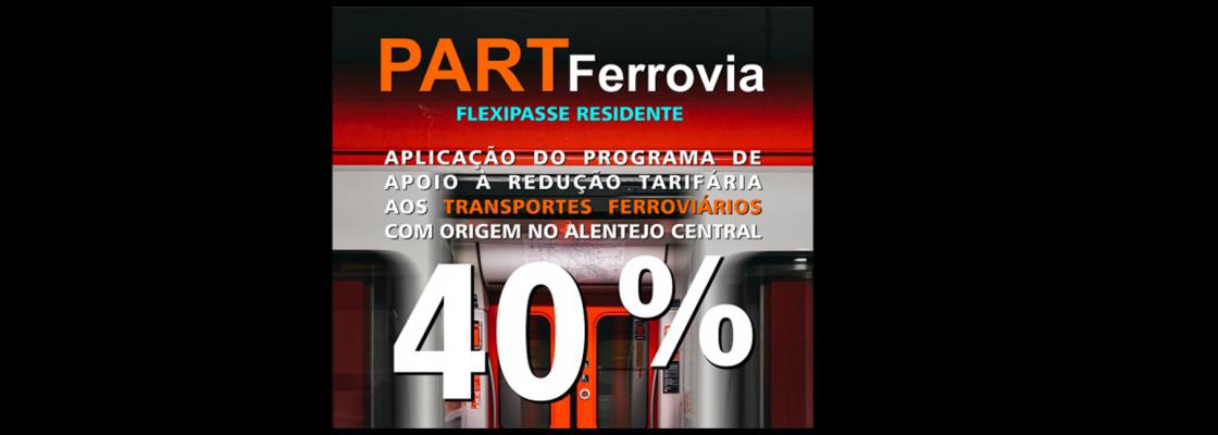Aplicação do PART aos Transportes Ferroviários: FLEXIPASSE RESIDENTE