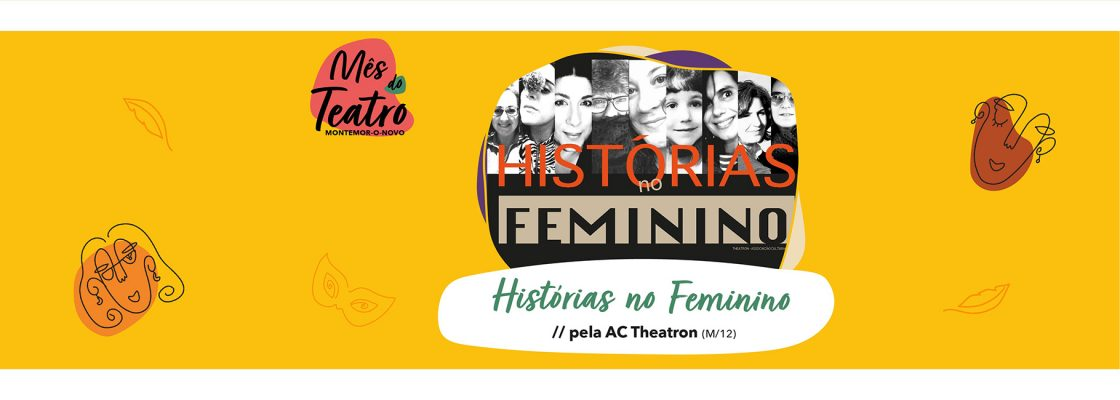 Mês do Teatro – Histórias no Feminino
